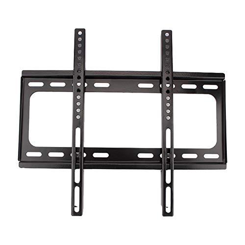 TV-Wandhalterung, 26-55 Zoll LCD Fernsehhalterung Halter, aus kaltgewalzter Stahl, mit Zubehör installieren, Sichere Schrauben -