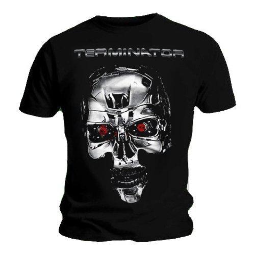 Official T Shirt Terminator Skull Endoskeleton T-shirt, Unisex