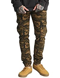Sixth June Herren Hosen / Cargohose Denim Cargo
