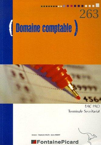 Domaine comptable Bac Professionnel secrétariat Tle