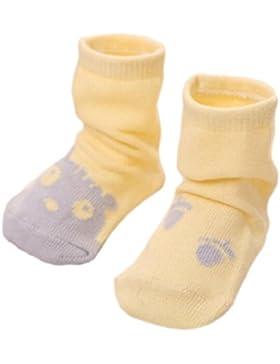 3 pares de calcetines antideslizantes del niño recién nacido Calcetines antideslizantes del bebé regalo de cumpleaños...