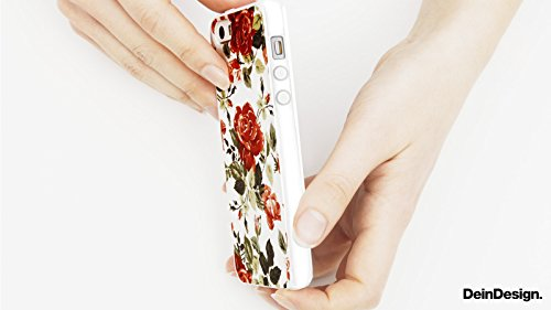 Apple iPhone X Silikon Hülle Case Schutzhülle Ornamente Blumen Muster Silikon Case transparent