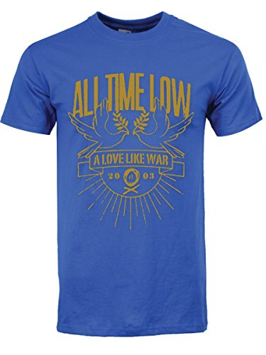 All TIME Low Doves Mens Tee