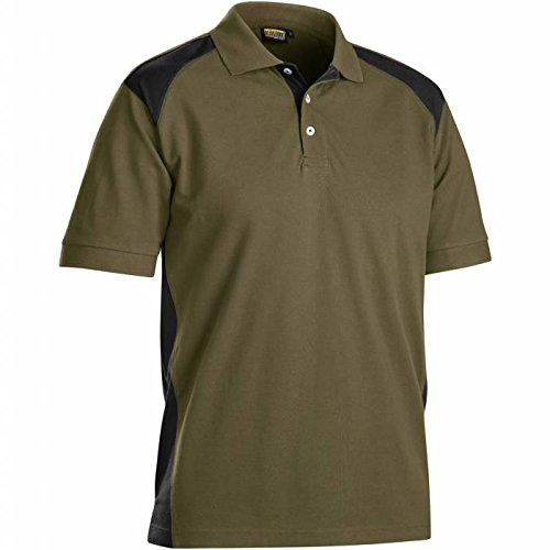 Blakläder Polo-Shirt, 1 Stück, Größe XXL, schwarz / grau, 332410509994XXL khaki      /      schwarz