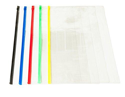 pack-of-12-a3-black-zip-zippy-bags-document-clear-plastic-transparent-storage-wallet