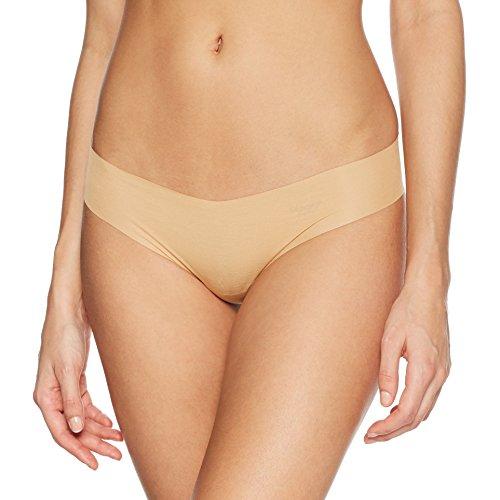 Preisvergleich Produktbild sloggi ZERO Modal HipString beige – Superbequemer nahtloser Damen String mit hohem hautfreundlichen Modal-Anteil - ultrafein & ultraleicht – Größe M 40-42