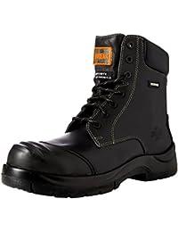 Unbreakable 8105 - Botas de seguridad de Cuero hombre, color Negro, talla 42.5