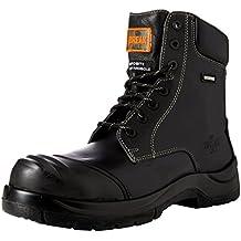 Unbreakable 8105 - Botas de seguridad de Cuero hombre, color Negro, talla 41.5