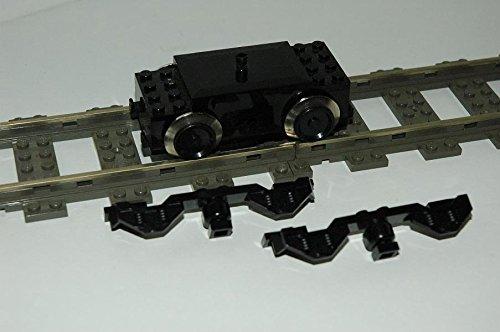 Gebrauchte Bausteine Ersatz für Lego System Lego 9V Eisenbahn Train Lok 9V Motor Seitenverkleidung Engine + Panels KOMPATIBEL MIT Lego Eisenbahn System