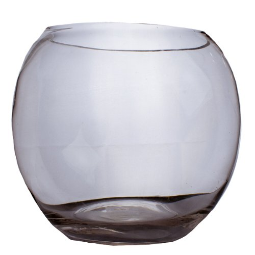 Glass Fish Bowl Vase - 21 cm x 24 cm Fish Bowl Vase