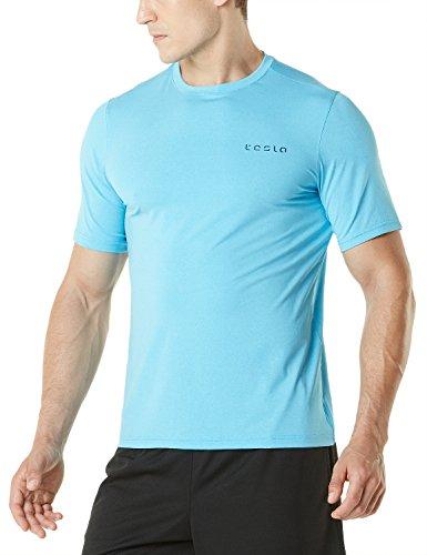 Tesla Hyperdri Chemise à manches courtes T-shirt athlétique Course Top Mts03 Z-TMMTS04-SKB