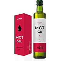 Preisvergleich für ACTIVEVITAL C8 MCT-Öl 500ml Neutral aus Kokos-Öl | Bulletproof Coffee | Pure Caprylsäure (C-8) | Vegan