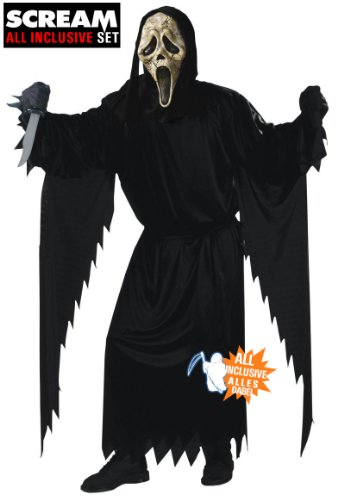 Kostüm Erwachsene Scream Für - All inclusive Scream Zombie Halloween Kostüm Set original Scream Zombie Maske