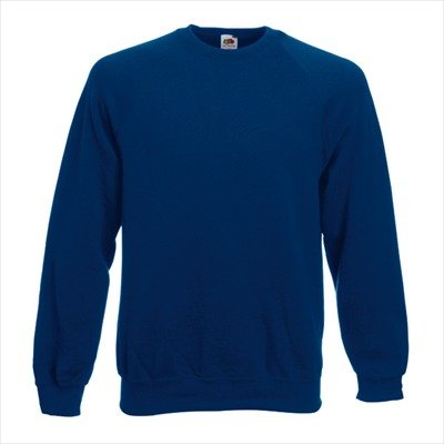 Fruit of the Loom - Sweatshirt 'Raglan Sweat' L,Navy -