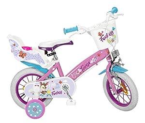 TOIMSA Fantasy Walk - Bicicleta de 12 Pulgadas (3-5 años), Multicolor