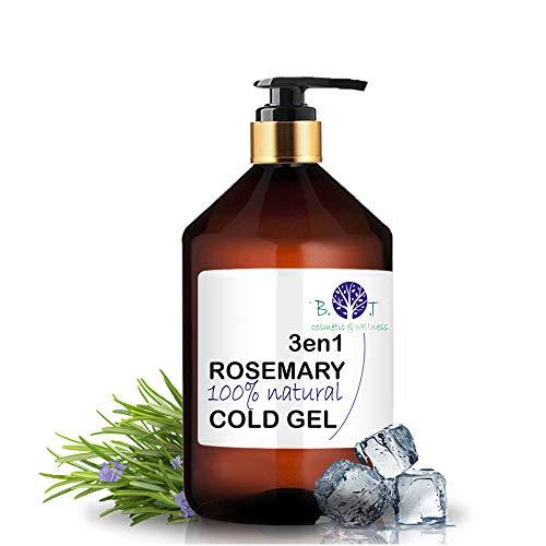 B.O.T Cosmetic & Wellness, Gel de Romero 3en1 Efecto Frío, Circulación & Anti Dolor (250 ml)