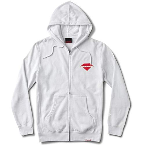 Diamond Supply Co. Viewpoint Zip Hoodie White Diamond Zip Hoodie