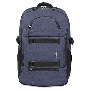 Targus Urban Explorer Laptop – Mochila de 24 litros Ideal para desplazamientos, actividades al aire libre, excursiones, ciclismo y viajes de fin de semana, para portátiles de hasta 15.6 «- Azul