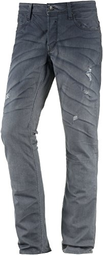 Garcia Homme Straight Fit Jeans Bleu jeans foncé