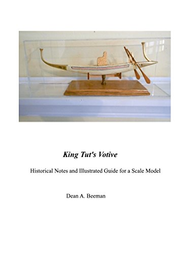 King Tut's Votive: Historical Notes and Illustrated Guide for a Scale Model (Scratch Built Book 2) (English Edition) - 2 Votives