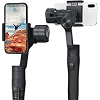 FeiyuTech FY Vimble 2 3-Axis Stabilized Handheld Gimbal for Smartphone with 183mm Pole Tripod Stand(Black)