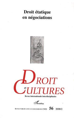 Droit et cultures, N° 56, février 2008 :