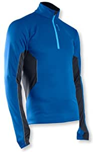 Sugoi Men's Firewall 180 Zip Seasonal Running Top - True Blue, Medium
