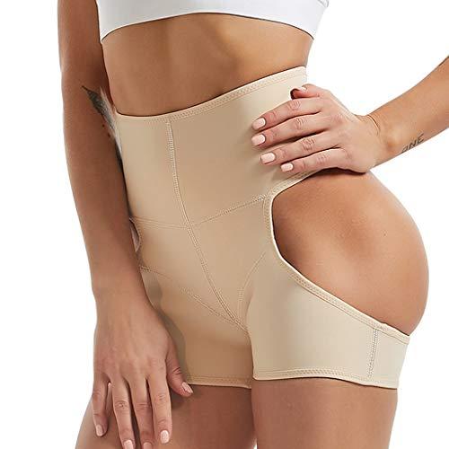 Timitai Frauen leistungsstarke Tummy Hip Rubber Pants Body Shaping Hosen Hip Pants -