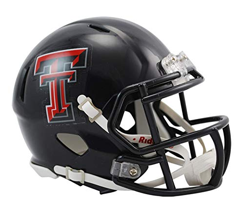 NCAA Texas Tech Red Raiders Speed Mini Helm
