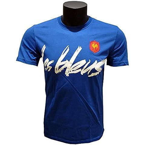 adidas–Camiseta Algodón Supporter 2014/15–FFR–Francia–Les Bleus
