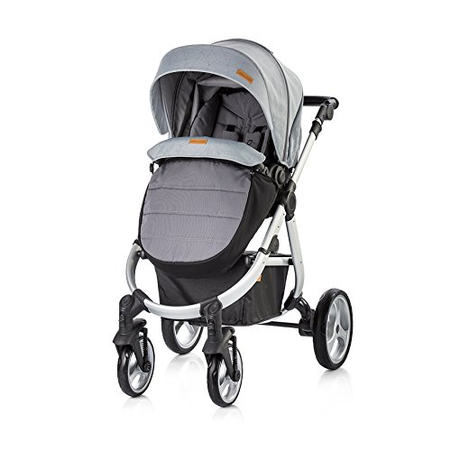 Chipolino Baby Stroller 3 in 1 Nina, Graphite 41R0cy16xXL