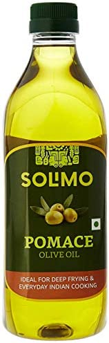 Amazon Brand - Solimo Pomace Olive Oil, 1L