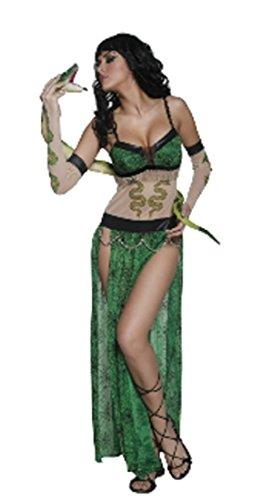 Imagen de disfraz carnaval mujer halloween mujer serpiente smiffys * 17111 * talla única