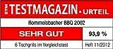ROMMELSBACHER BBQ 2002 Gourmet Elektrogrill / Zuschaltbare Turbo-Grillzone / Antihaftbeschichtung QuanTanium / 1900 W / schwarz -