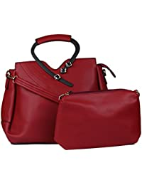 ISweven Women's Hand Held Bag & Sling Bag | Ladies Stylish PU Handbags | Office Bags For Girls | Available Colours...