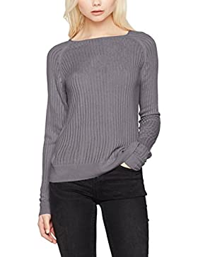 ONLY Damen Pullover Onlrose Rib L/S Pullover Knt Noos