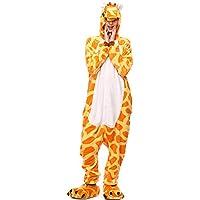 Moollyfox Kigurumi Pijamas Unisexo Adulto Traje Disfraz Adulto Animal Pyjamas