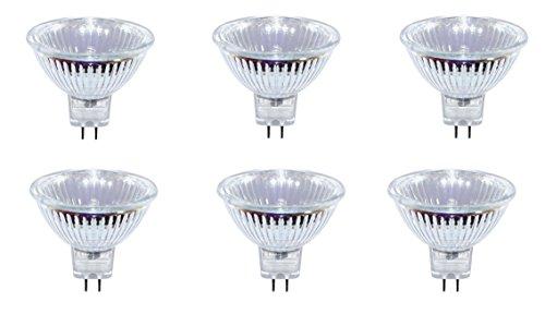 10er Set BRILONER Halogen Strahler mit GU5,3 Sockel (warm-weiß, 12 Volt AC, 35 Watt, Lampe, Leuchtmittel, Haushaltspack ) [Energieklasse C]