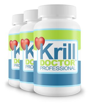 1200mg High Strength Krill Oil Per Serving Triple Pack - Sourced from the Antarctic Ocean, As seen in Dr Hilary Jones Live to 100