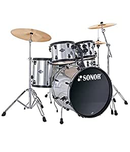 Sonor Smart Force Stage I Drum Kit - Brushed Chrome