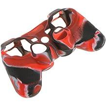 Cubierta Protector Funda Cáscara Controlador Mando de Silicona para Sony PS2 PS3