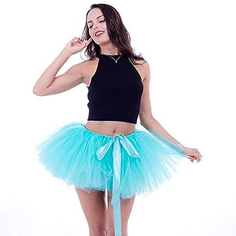 Honeystore Damen's Retro Rockabilly Swing Petticoat Ballett Tutu Unterrock in verschiedenen Farben One Size (Einfache Selbst Gemachte Kostüme Für Halloween)