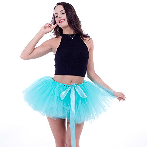 Honeystore Damen's Retro Rockabilly Swing Petticoat Ballett Tutu Unterrock in verschiedenen Farben One Size (Puppe Selbstgemacht Halloween Kostüm)