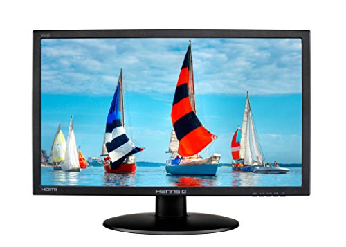 Hannspree HS225HPB 21.5-Inch Diagonal LED Backlight Monitor - White