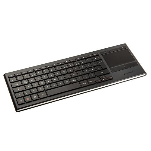 Logitech Tastatur Illuminated Living-Room K830