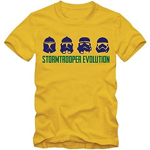 Stormtrooper Evolution #1 T-Shirt   SW   Episode   Sterne