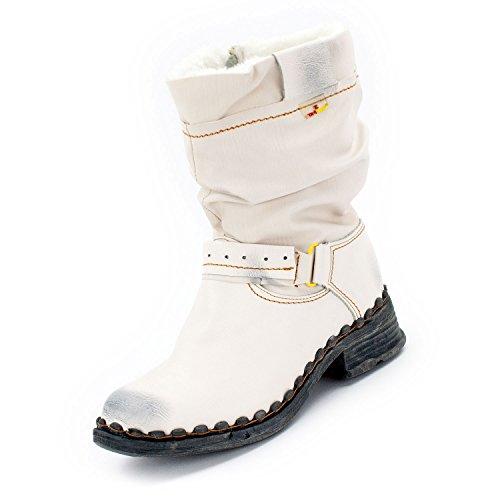 Tama TMA - Stivali da motociclista Donna bianco crema