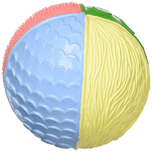 Lanco Naturkautschuk Babyball Sensory Ball PHANTASY (9cm) - Motorikspielzeug - Frei Zusatzstoffen: 0{eef62e11947ddc394471d01fe4da25de1038ede3e747b81a1d8ff396f85fabd1} PVC, BPA, Phthalate