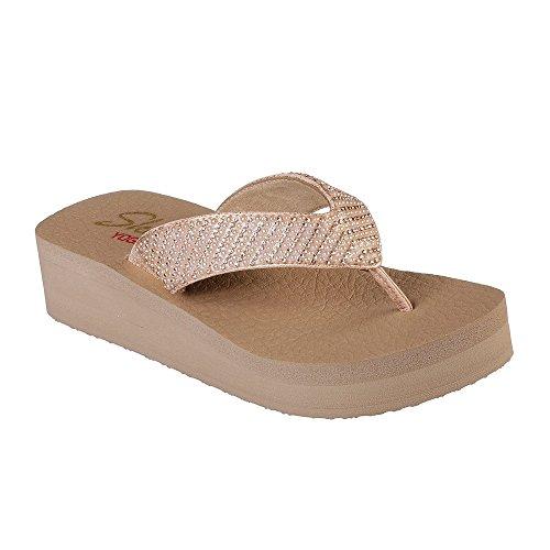 5a16c07ca Skechers Women s Vinyasa-Beach League T-Bar Sandals – HD Superstore ...