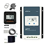 EPEVER MPPT 30A Solar Charge Controller Regulator 12v 24v Auto with LCD display